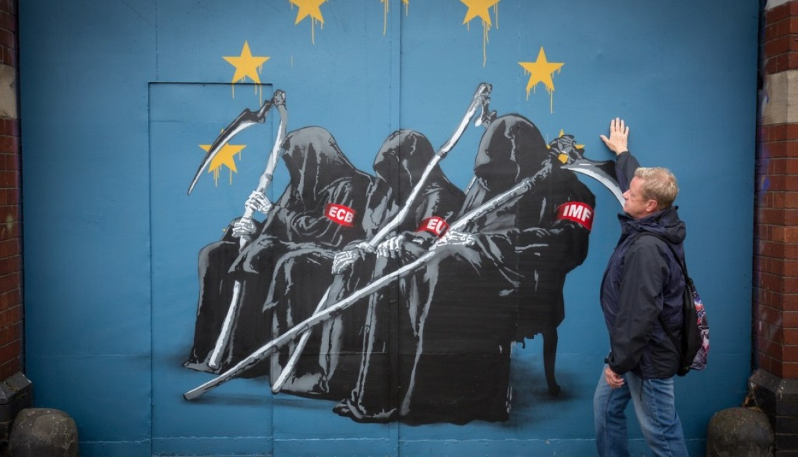 EU in vogelvlucht op weg naar de afgrond